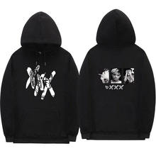 Xxxtentacion zemsta bluzy z kapturem męczyzn/kobiety raper хип