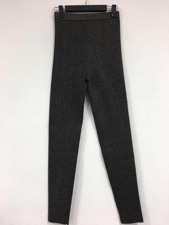 2019 осень и зима досуг яркие шелковые женские тянущиеся трикотажные леггинсы брюки