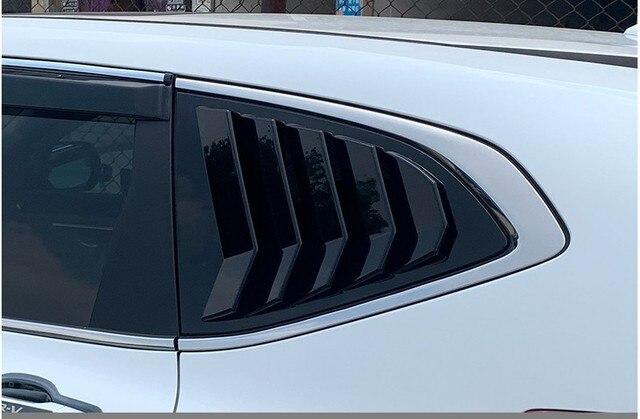 For Honda CR V CRV 2017 2018 2019 Rear Fender Side Window Blind shades Louver Frame Window Sill Molding Cover Sticker Trim