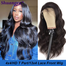 Peruvian Body Wave Human Hair Wig Miss Cara Remy Hair 180% Denstiy Lace Front Human Hair Wig Longer Transparnt Lace T Part Wig