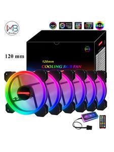 Fan Cooling-Cooler Computer-Case 6PIN 120mm Aura Sync Ventilador Adjust RGB Pwm Rgb Led