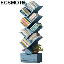 Boekenkast bois dekorasyon estanteria para libro crianças mobiliário para la casa rack retro decoração móveis livro prateleira caso