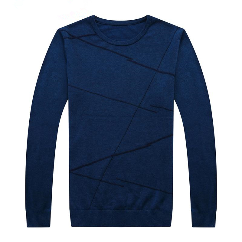 2019 Fashion Brand Sweater For Men Pullover Woolen Slim Fit Jumpers Knitting Pattern Autumn Casual Clothing Men J648