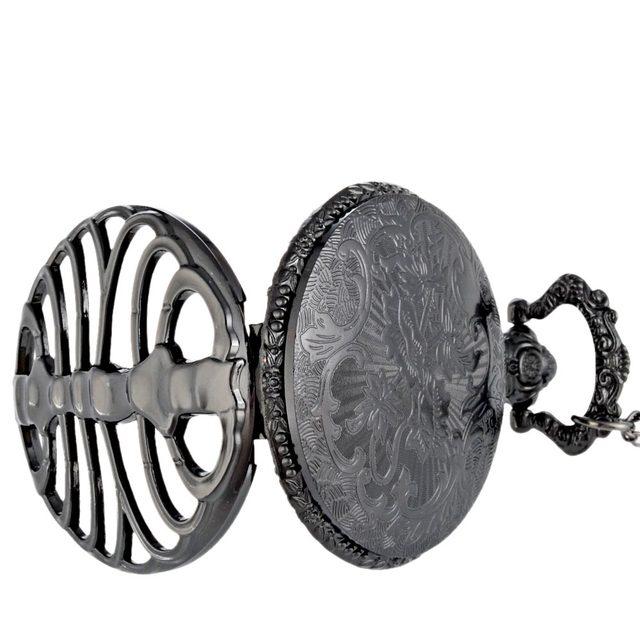 Spine ribs pocket watch