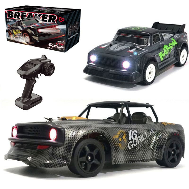 SG 1603 / 1604 1/16 2.4G 4WD Brushed  Drift Car 30km/h High Speed LED Light Proportional Control Vehicles Racing Cars