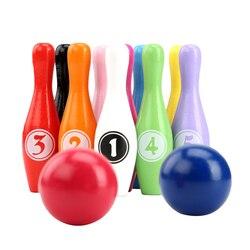 1 conjunto de pinos e bolas de tigela, coloridos, durável, tigela, brinquedo educativo para crianças, adolescentes