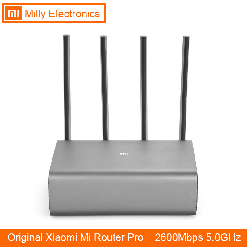 Xiao mi mi roteador pro r3p 2600 mbps wi-fi wi fi inteligente sem fio wifi roteador 4 antena banda dupla 2.4 ghz 5.0 ghz wi-fi dispositivo de rede