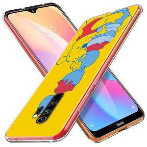 Image 3 - Siliconen Cover Winnie De Pooh Voor Xiaomi Redmi Note 10 10S 9 9S Pro Max 9T 8T 8 7 6 5 Pro 5A Telefoon Case