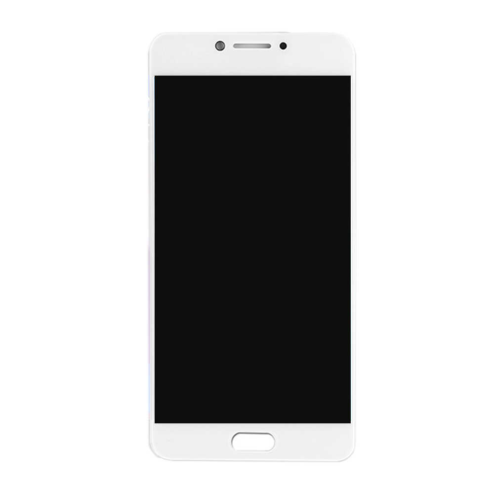 Color : White for Galaxy C7 Pro // C7010 Black YANGJ Phone LCD Screen LCD Screen and Digitizer Full Assembly OLED Material