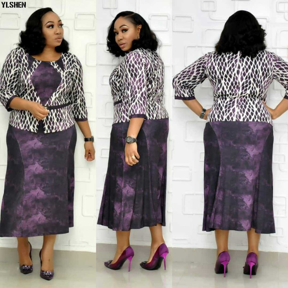 Ankara African Dresses for Women Dashiki Print African Clothes Skirt New Bazin Rich Robe Boubou Africaine Dress Outfits Clothing 03