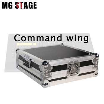 MA OnPC Command Wing Controller DMX512 Command / Fader Wing Stage Light Controller With Flight Case Dmx Output Dj Lighting
