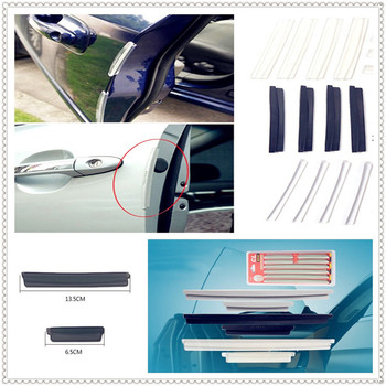 car auto Side Door Edge Protective Strip Scrape Bumper Guards for Peugeot Jeep Harley-Davidson Buick Bentley Scania 6008 301 408 image