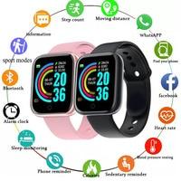 Sport Smart Watches per uomo donna regalo Smartwatch digitale Fitness Tracker orologio da polso bracciale pressione sanguigna Android ios
