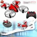 Niños regalos multifunción 3 en 1 Control Remoto RCHovercraft aviones juguetes 2,4G 4CH aire y tierra modo RC Mini Drone juego planeador