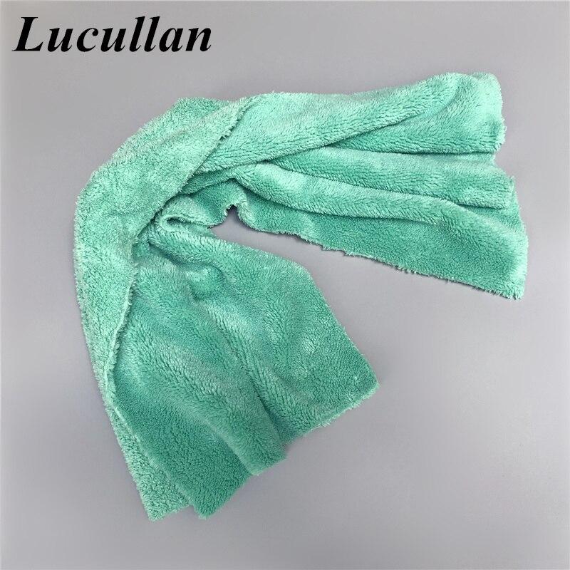 Lucullan Premium Super absorbente 40X80CM Toalla de microfibra ropa de detalles de coche perfecta para pintar vidrio lavado Interior secado Trendyol bucle detallada Fondo de Bikini TBESS20BA0330