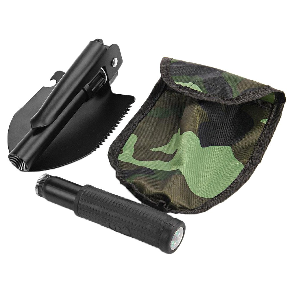 Garden Tools Mini-Military Portable Folding Shovel Survival Spade Emergency Trowel For Outdoor Camping Tooldiscount