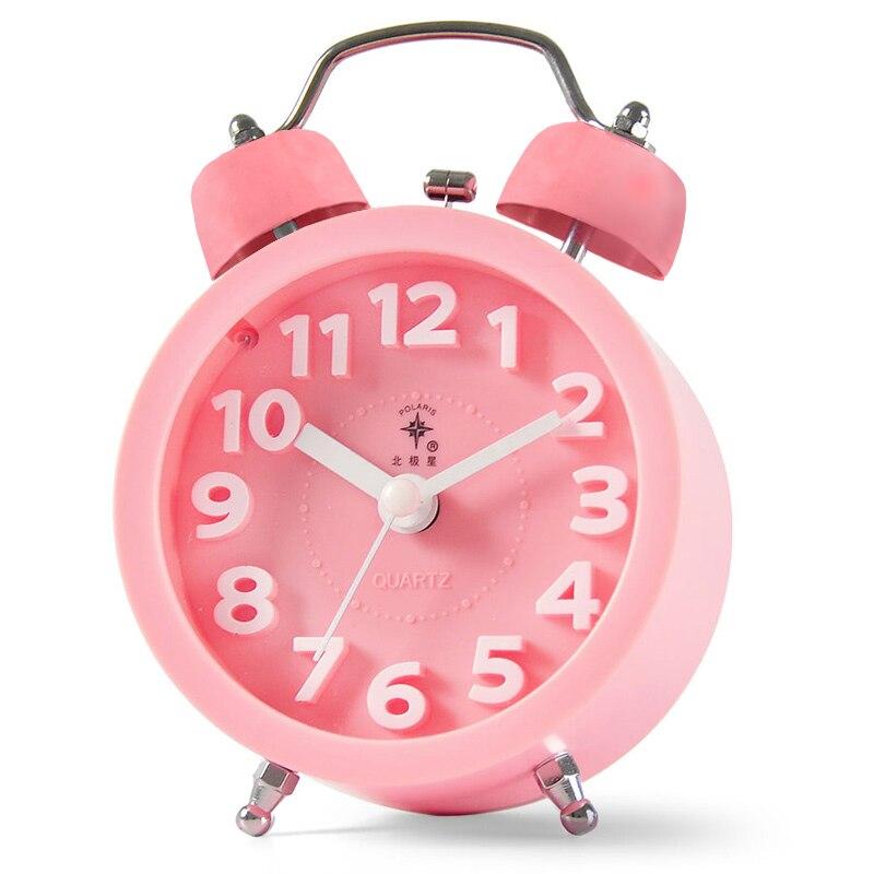 Vintage Retro Table Alarm Clock Kids Snooz Modern Desktop Alarm Clock Bedrooms Reloj Despertador Clocks Table Decor JJ60AC