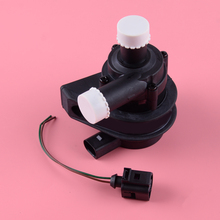 Car Circulating Cooling Water Pump Plug Connect Cable Fit for VW Volkswagen Jetta Golf Passat Audi Skoda Seat 2012 1K0965561J cooling auxiliary water pump with wire for vw jetta golf gti passat cc octavia 1 8 t 2 0 t 1k0 965 561 j 1k0965561j 7 02074 89 0