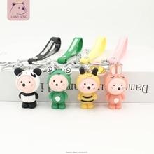 Creative Cartoon Drag Mouse Keychain Cute Zodiac Keyring Fashion Car Key Chain Pendant Woman