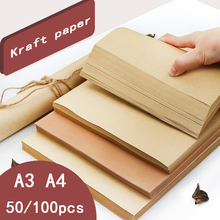 Binding-Cover Wrapping-Paper Cardboard Thick A3 A4 Painting Lead Art DIY Handmade Sketch