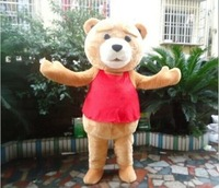 2019 Adult Halloween Movie Teddy Bear Mascot Costume Suits Cosplay Party Game Dress Halloween Mascot Costumes