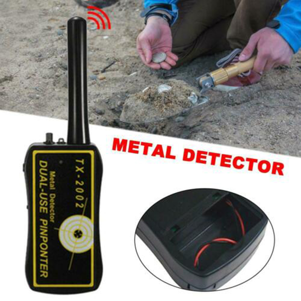 High Sensitivity Adjustable TX-2002 Handheld Metal Detector Long Range Diamond Archeological Gold Underground Metal Locator