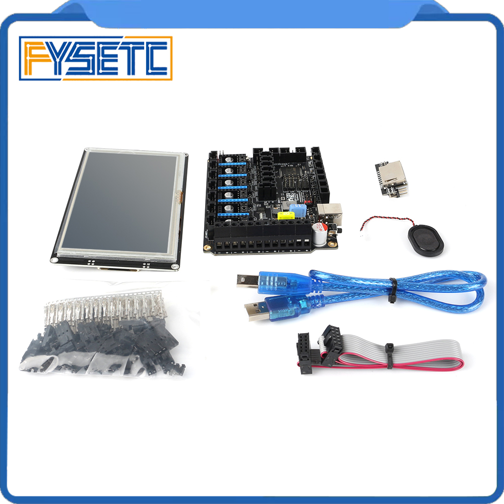 3D Printer Parts S6 V1.2 Board 32 Bit Control Board MX Version With TFT81050 Smart Controller LCD Display 5 Inch Touch Screen