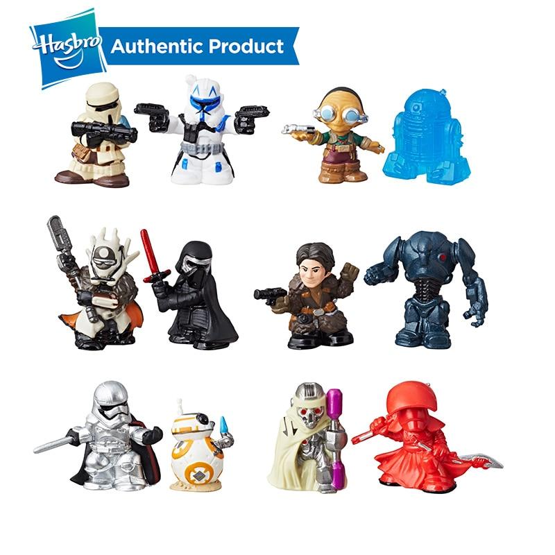LOT OF 6 Hasbro NEW STAR WARS Micro Force Blind Bag Figures Series 6