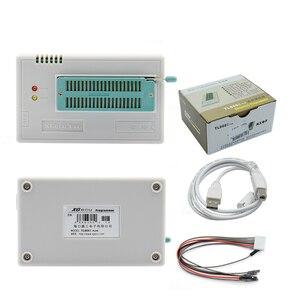 Image 5 - 100% Original más nuevo V10.55 TL866II Plus Universal Minipro programador + 28 adaptadores + Clip de prueba TL866 foto Bios de alta velocidad programador