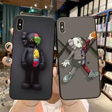 Cartoon Fashion KAWSS DIY Printing Phone Case cover Shell fo