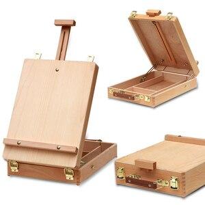 Image 1 - Fileto masaüstü dizüstü bilgisayar kutusu şövale boyama donanım aksesuarları çok fonksiyonlu boyama bavul sanat kaynağı sanatçı damla nakliye