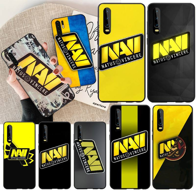 PENGHUWAN Natus Vincere navi Cover Black Soft Shell Phone Case For Huawei  Y5 Y6 Y7 Y9 Prime 2019  Enjoy 7 8 9 10 Plus