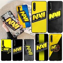 PENGHUWAN Natus Vincere navi Cover Black Soft Shell Phone Case For Huawei  Y5 Y6 Y7 Y9 Prime 2019  Enjoy 7 8 9 10 Plus
