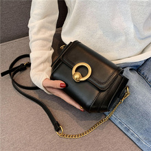 Vintage Soft Small PU Leather Women's Crossbody Bags 2020 Fa