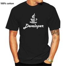 Java Developer And Programmer T Shirt Newest Top Quality Fitness Clothing Mens T Shirts Designer Euro Size Spring Novelty