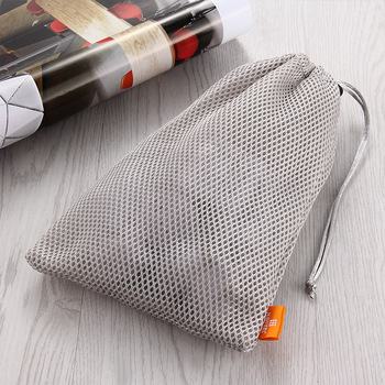 Reusable Nylon Mesh Storage Bag Mask Phone Cables Lipsticks Keys Storage Bags Portable Dust-proof Small Objects Organizer 2020 image