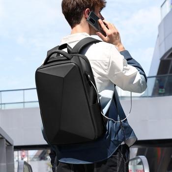Fenruien Brand Laptop Backpack Anti-theft Waterproof School Backpacks USB Charging Men Business Travel Bag Backpack New Design