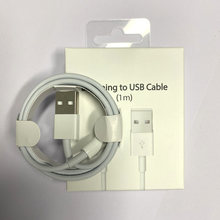 1m 2m Original USB Cable for iPhone 6S 6 7 8 Plus 11 Pro XS Max X XR SE 5S 5C 5 USB Charging Data Cord Charger Cables With Box