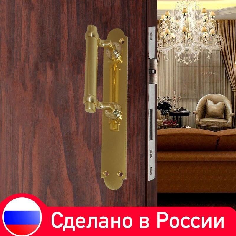 Poignée de porte en laiton Antique et poignées pour Villa en bois porte meubles matériel en gros