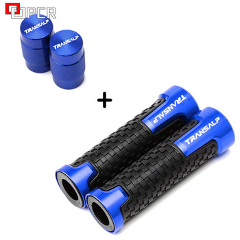 Brand New For Honda TRANSALP 600 XL700V 700 XL 650 VY/V1-V7 Transalp Motorcycle Wheel Tire Valve caps & Handlebar Grips For image