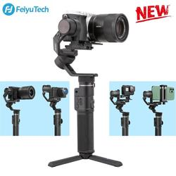 Feiyu G6 Max 3 axis handheld gimbal stabilizer for Camera Sony a7 series for Gopro 8/7/6/5 Mirrorless Action Camera Smartphone