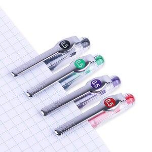 Image 4 - 12 pcs Pilot Pens Set Pilot Precise P 500 Gel Ink Rolling Ball Pens 0.5 mm Roller Extra Fine Point Black Color Ink