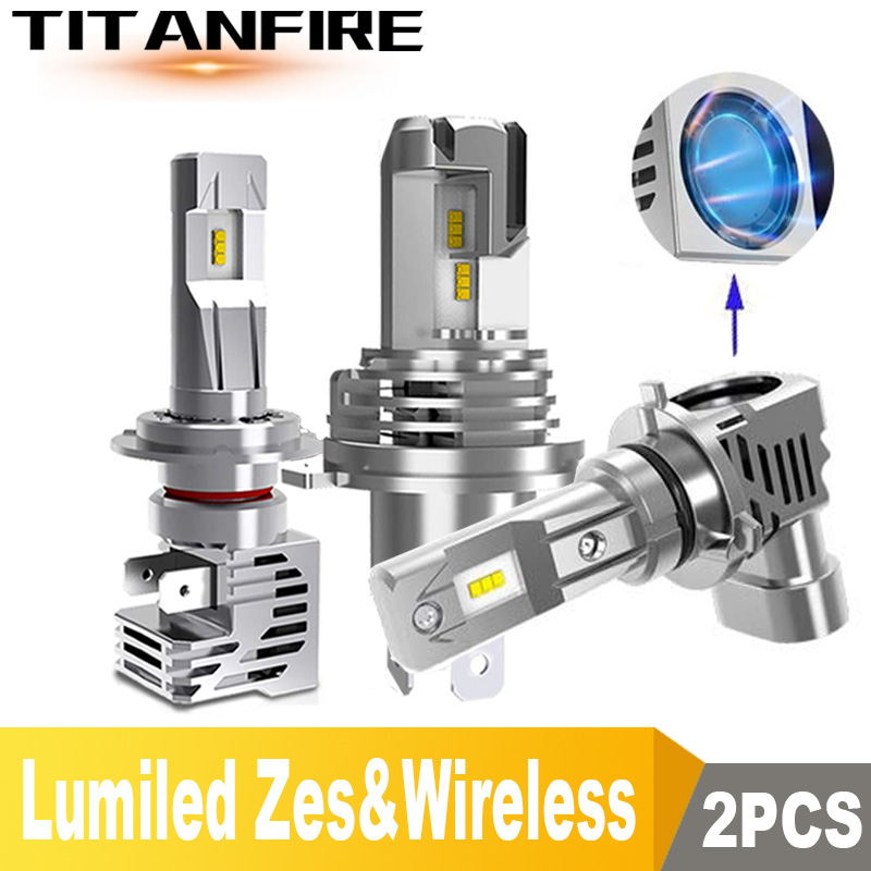 TF30 NEW Arrivals 110W/Pair 15000LM LED HB4 HB3 H8 H11 H7 H4 LED Car/Motorcycle Headlight Bulbs Hi/Lo 6000K 12V 24V LED H4 image