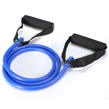 Эспандеры для упражнений, набор для йоги, фитнеса, тренировки, растягиваются, сверхпрочные трубы, синие