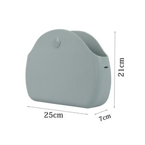 Image 5 - New O bag moon light Body with long chain waterproof  inner pocket bag rubber silicon O moon light Obag women handbag