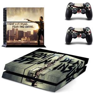 Image 4 - The Walking Dead PS4สติกเกอร์Play Station 4สติกเกอร์ผิวเกมสำหรับPlayStation 4 PS4คอนโซลและคอนโทรลเลอร์สกินไวนิล