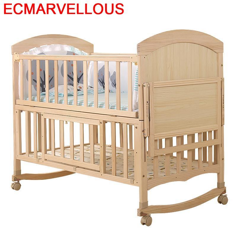 Girl Ranza Child Bedroom Furniture Cama Infantil Menino Cameretta Bambini Wooden Lit Enfant Kinderbett Children Kid Bed