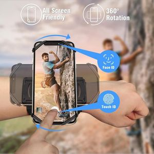 Image 3 - Running Sports Phone Case Wrist Arm Band For IPhone 11 Pro Max X XR 6 7 8 Plus Samsung Note 10 S9 P30 GYM Wristband For LG Pixel