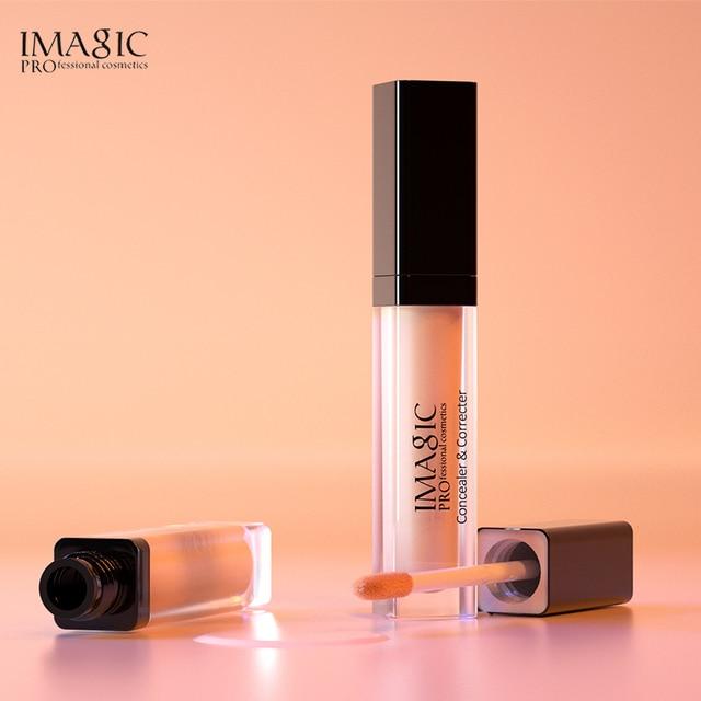 IMAGIC Eye Concealer & Base 6 Colors Full Coverage Suit for All Color Skin Face / Eye Makeup Liquid Concealer 5