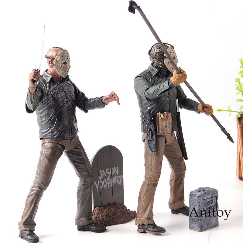 Image 3 - NECA Friday the 13th 2009 Deluxe Edition Jason Voorhees Action Figure PVC Horror Collectibles Model Toy Gift for FriendsAction & Toy Figures   -